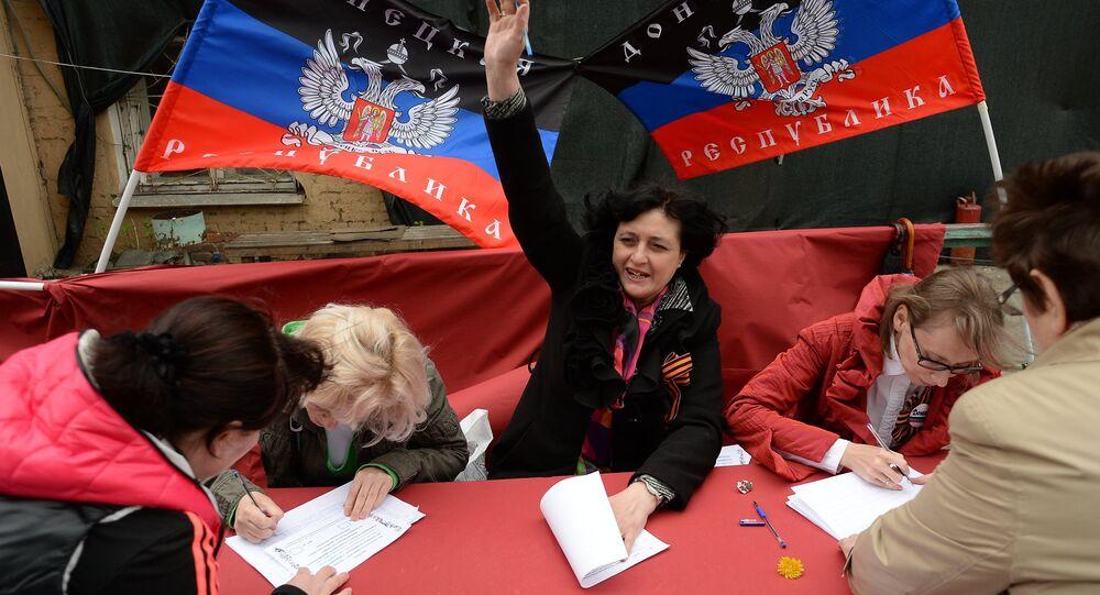 Républiques du Donbass: vers un référendum sur l'adhésion à la Russie
