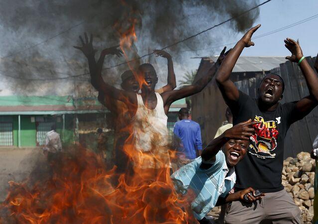 Troubles au Burundi