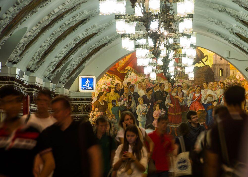 La station de métro Kievskaïa