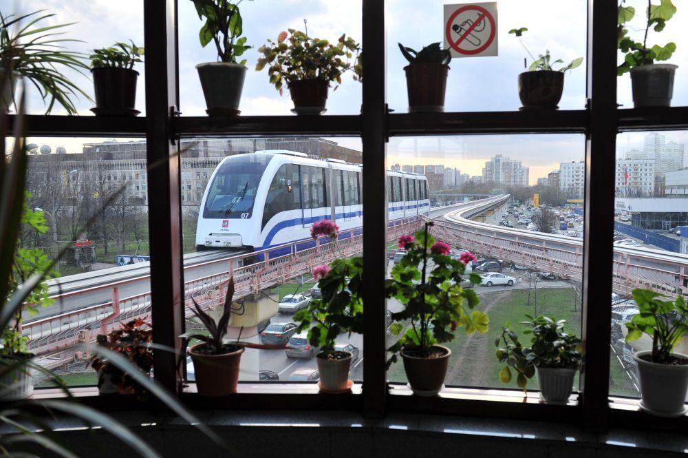 La mise en service du monorail de Moscou a été effectuée le 10 janvier 2008