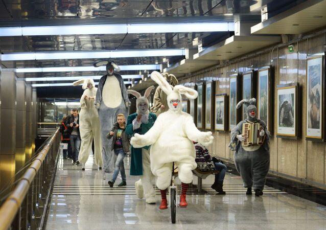 La station de métro Vystavochnaïa