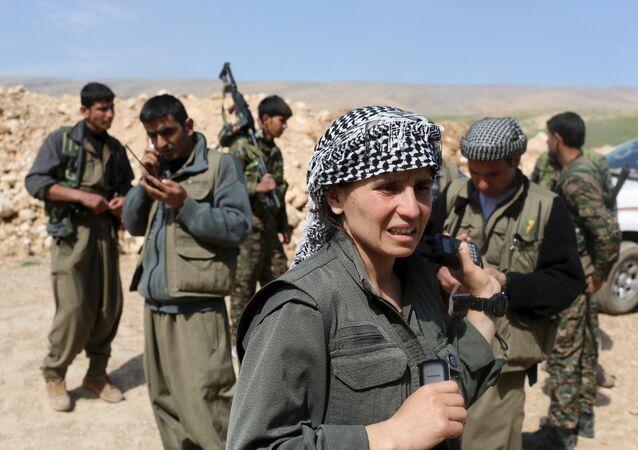 Combattants du Parti des Travailleurs du Kurdistan (PKK)