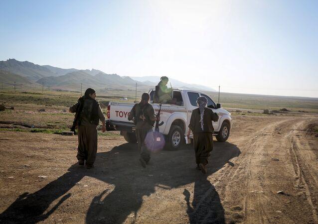 Combattants du PKK