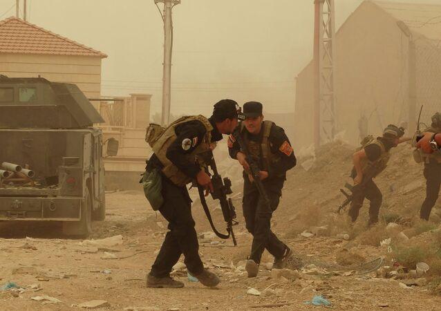 La police irakienne