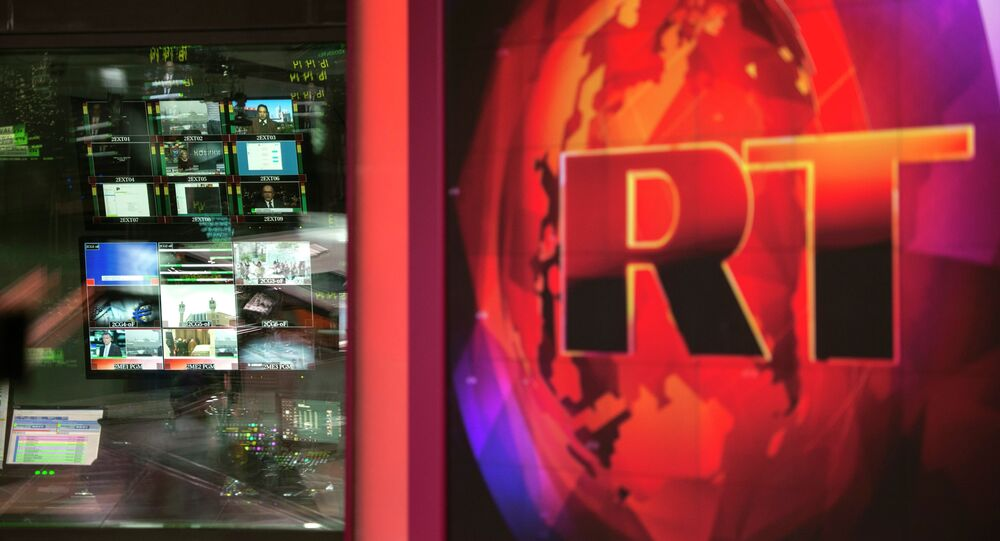 Russia Today, logo