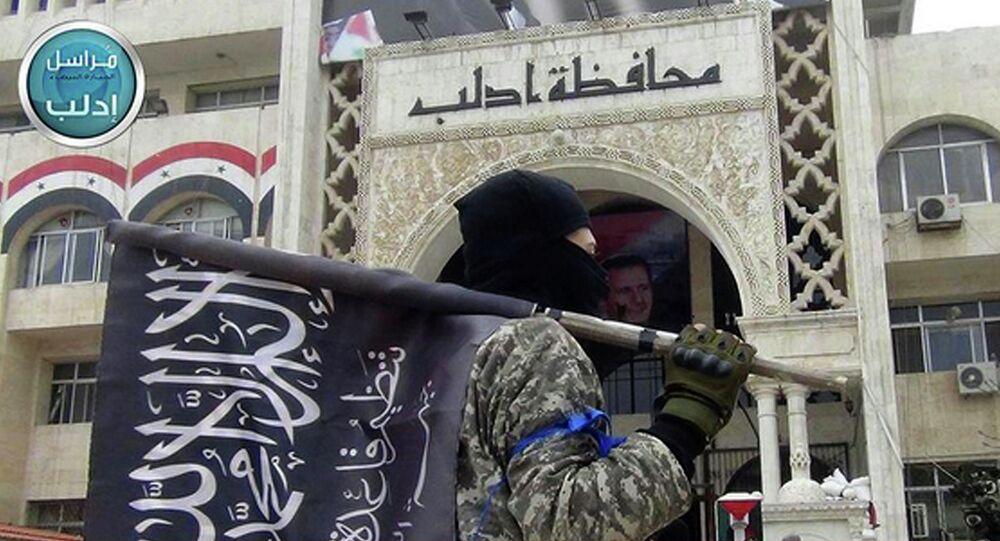 Un combattant d'un groupe terroriste lié à al-Qaida