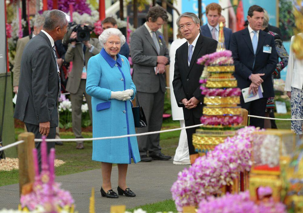La fête des fleurs à Londres