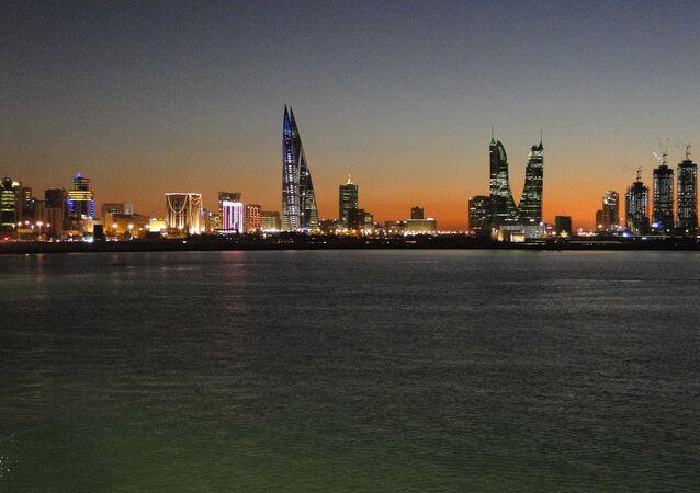 Manama, capitale bahreïnie Le Bahreïn