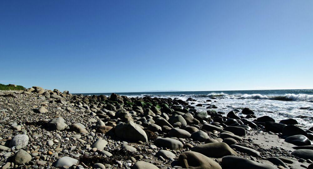Refugio Beach parc d'État de la Californie