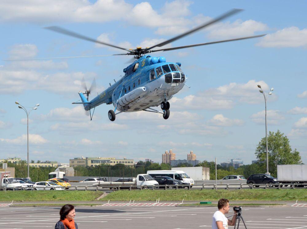 L'hélicoptère Mi-8