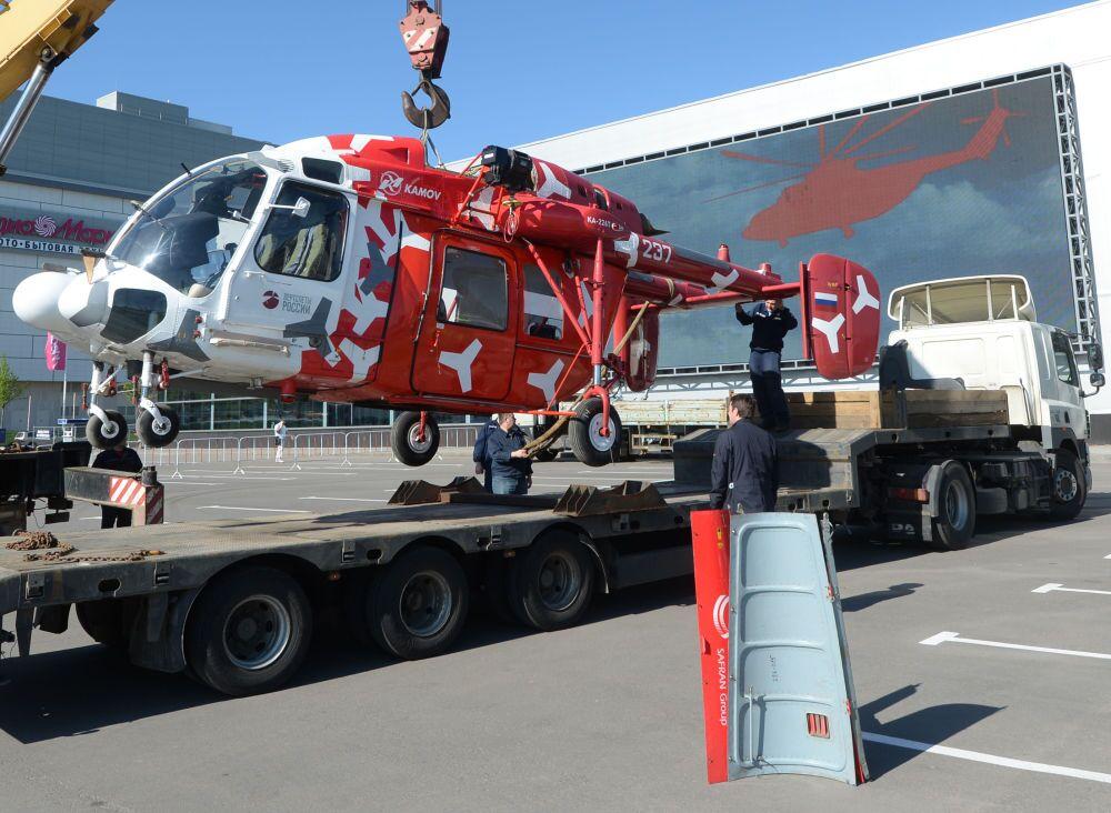 L'hélicoptère KA-226T