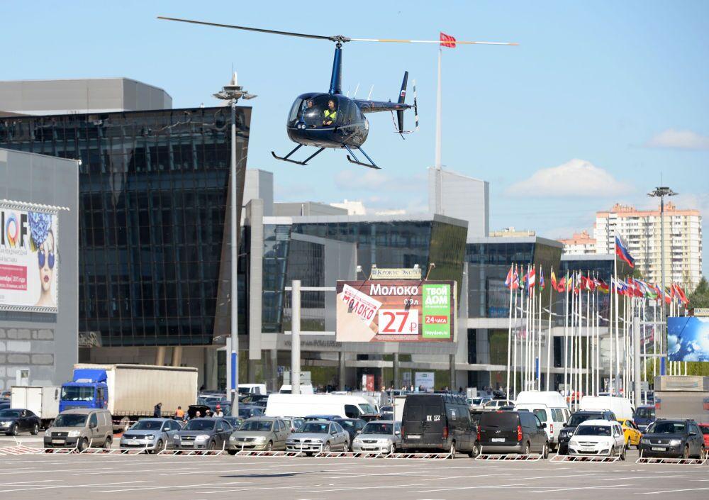 L'hélicoptère Robinson R66 turbine