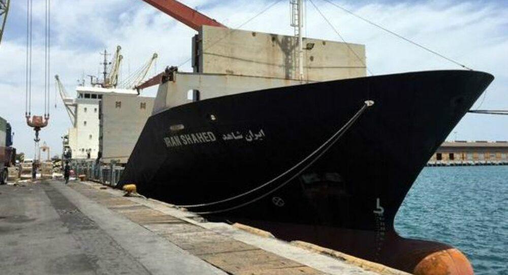 Le cargo iranien Iran Shahed