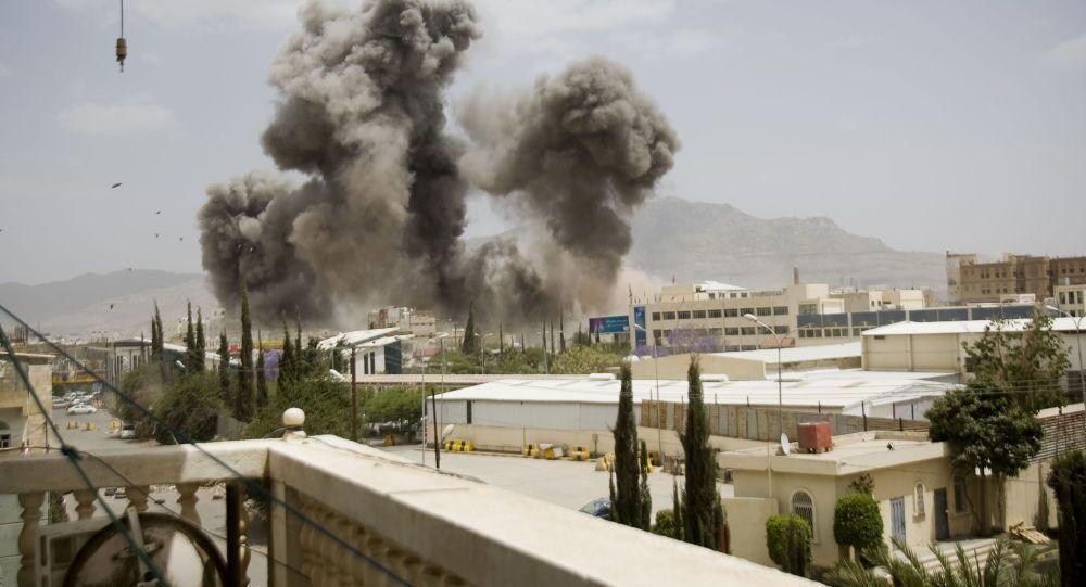Sanaa sous les bombardements
