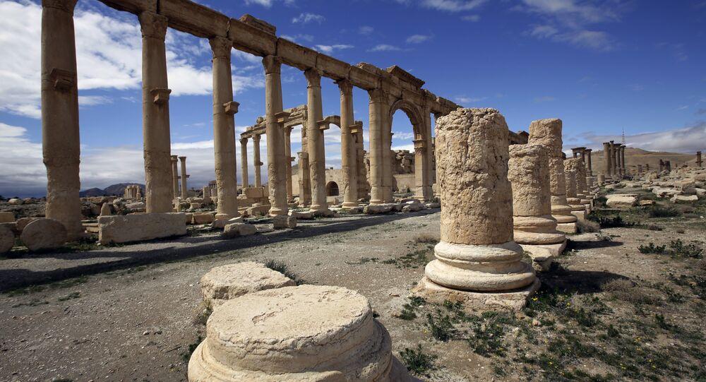 Vestiges de Palmyre
