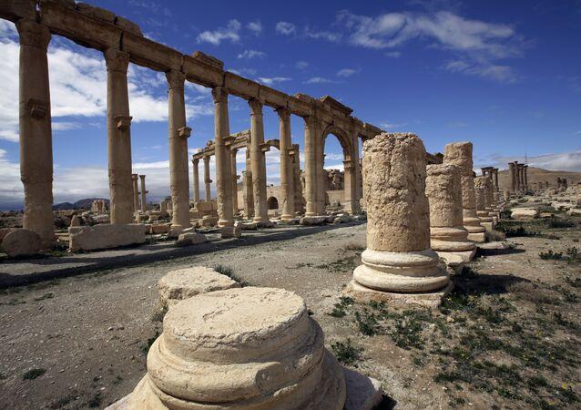 Palmyre en mars 2014