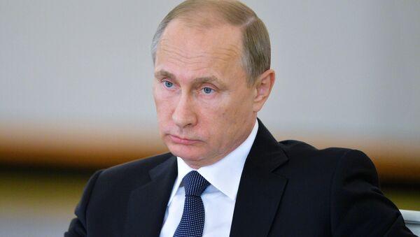 Vladimir Poutine, président de Russie - Sputnik France