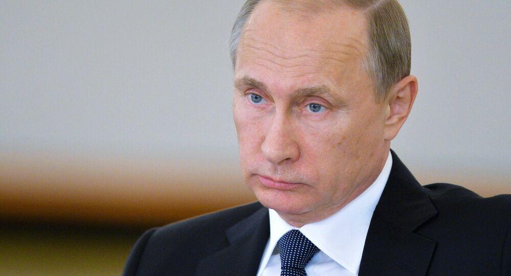 Vladimir Poutine, président de Russie