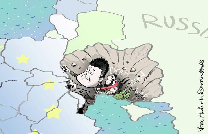 Un an après: l'Ukraine au bord du gouffre