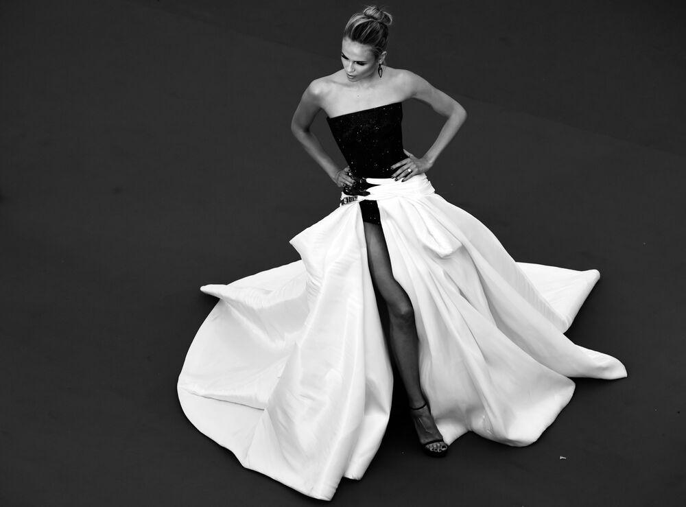 Le mannequin russe Natasha Poly