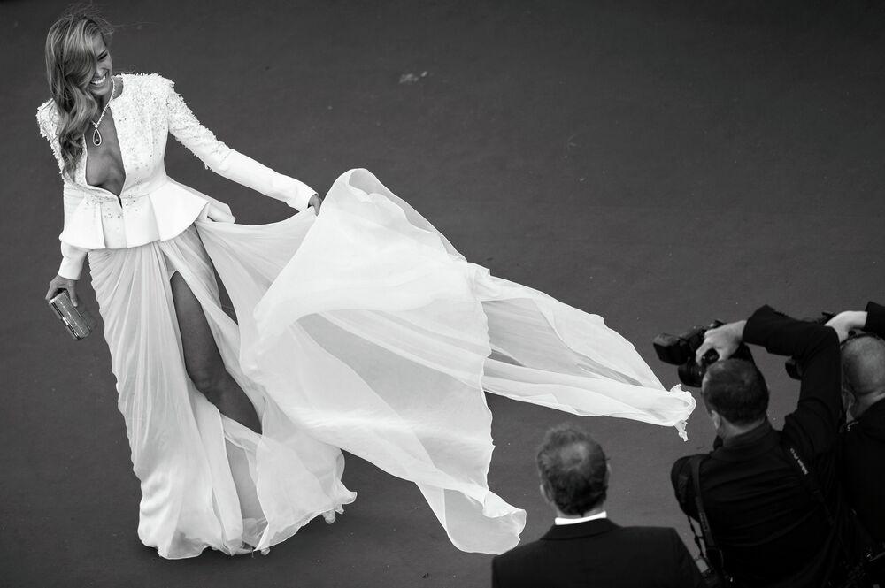 Le mannequin tchèque Petra Nemcova