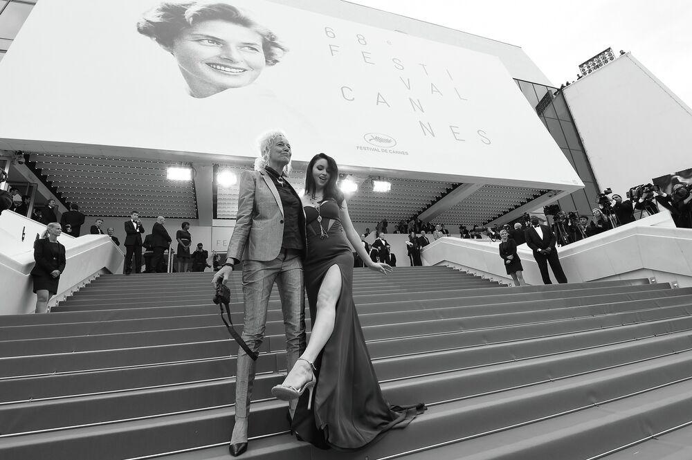 Ellen von Unwerth (photographe) et Emma Miller (mannequin britannique)