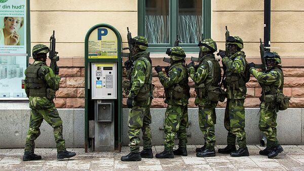 Militaires suédois - Sputnik France