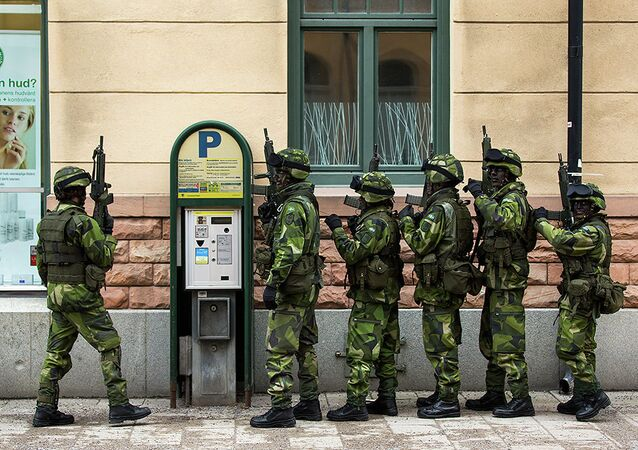 Militaires suédois