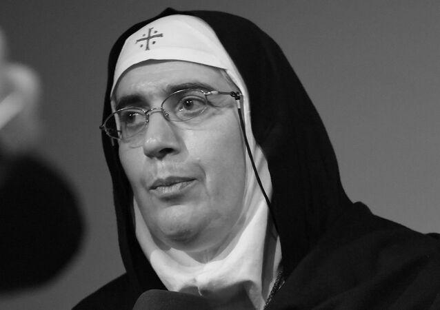 Sœur Agnès-Mariam de la Croix