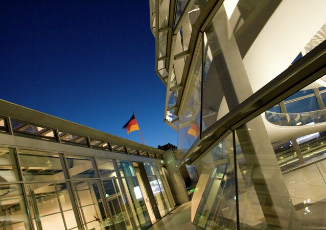 Le Reichstag, Berlin