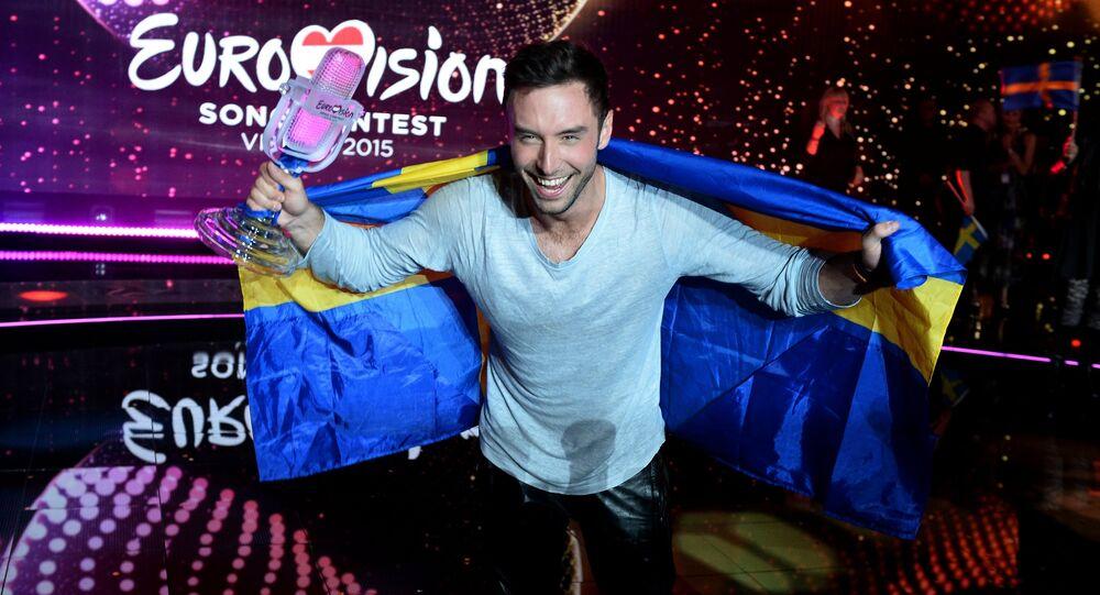 Mans Zelmerlow (Suède), vainqueur de l'Eurovision 2015