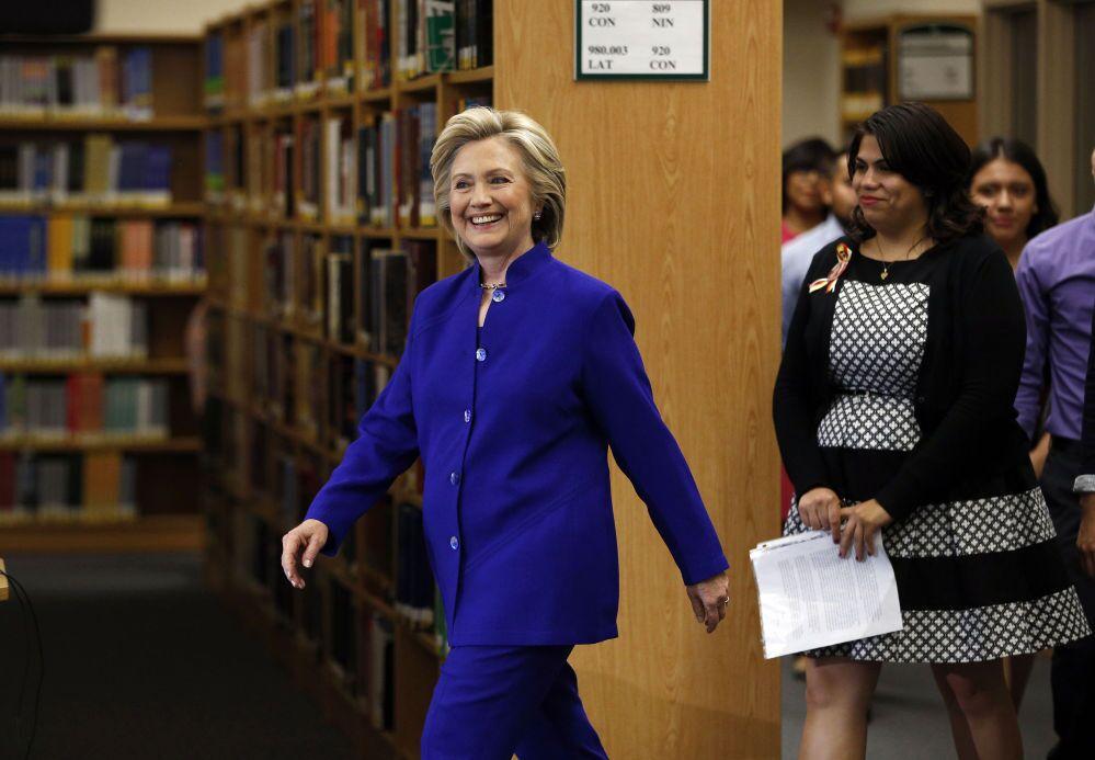 Hillary Clinton, ex-secrétaire d'Etat, candidate pour la présidentielle américaine de 2016