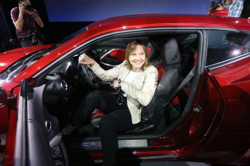 Mary Barra,  PDG de General Motors