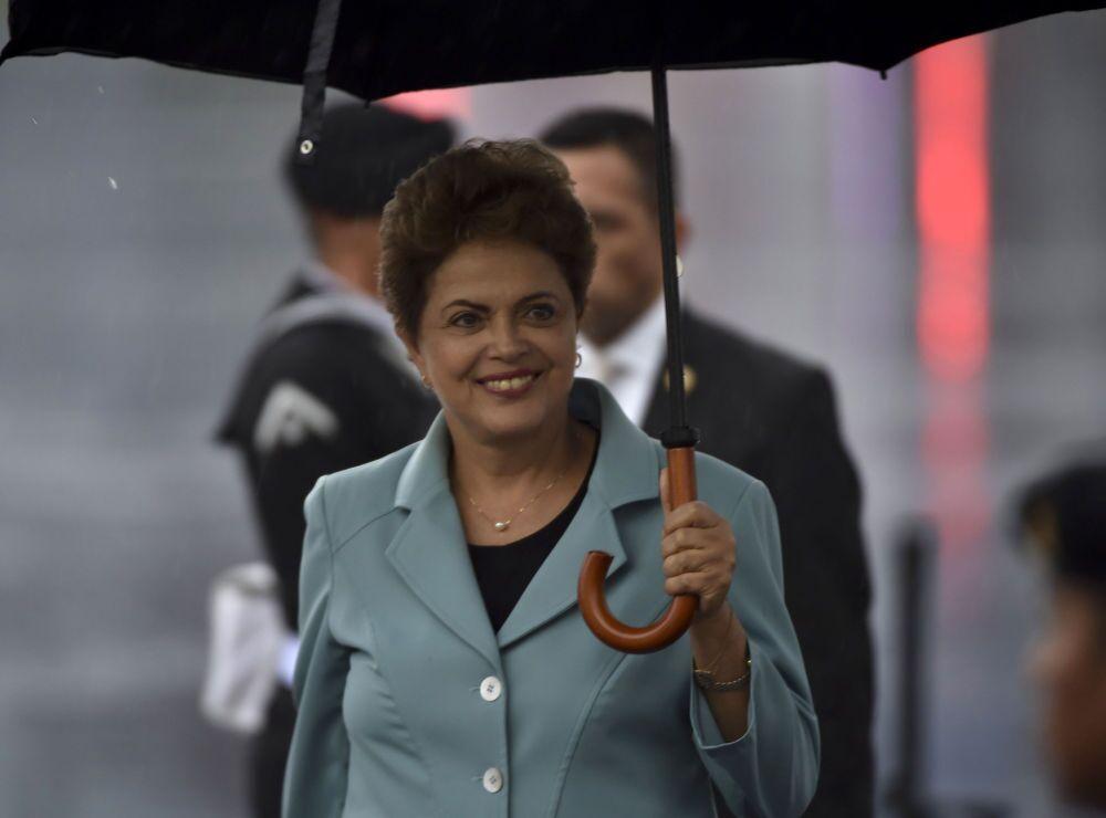 Dilma Rousseff, président du Brésil