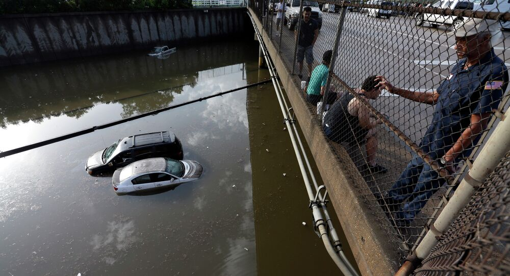 Inondation à Houston