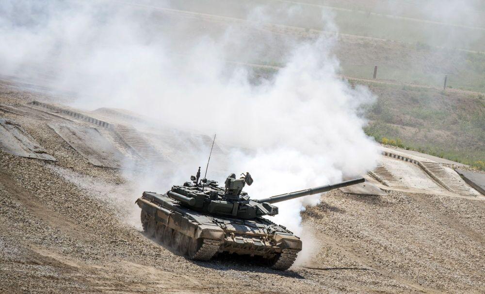 Du matériel de guerre russe dernier cri exposé près de Moscou
