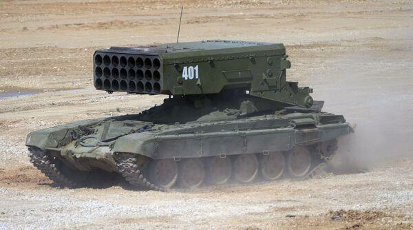 Du matériel de guerre russe dernier cri exposé près de Moscou - Sputnik France