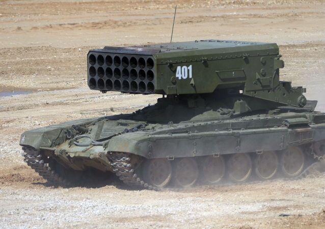Un canon automoteur antichar Sprout-SD