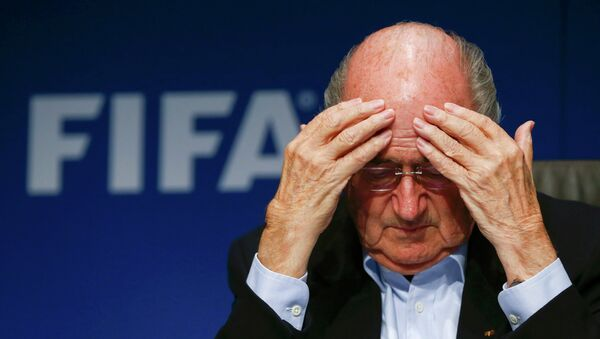 Joseph Blatter, presidente de la FIFA - Sputnik France