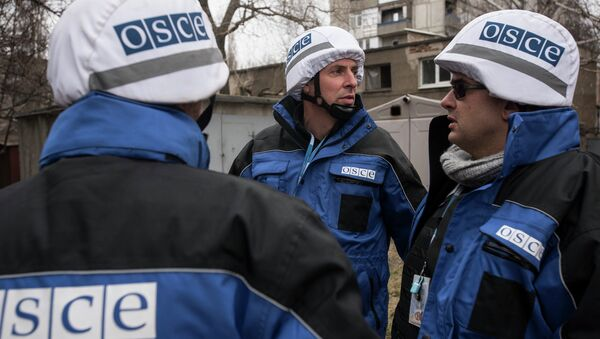 OSCE SMM monitoring the movement of heavy weaponry in eastern Ukraine - Sputnik France