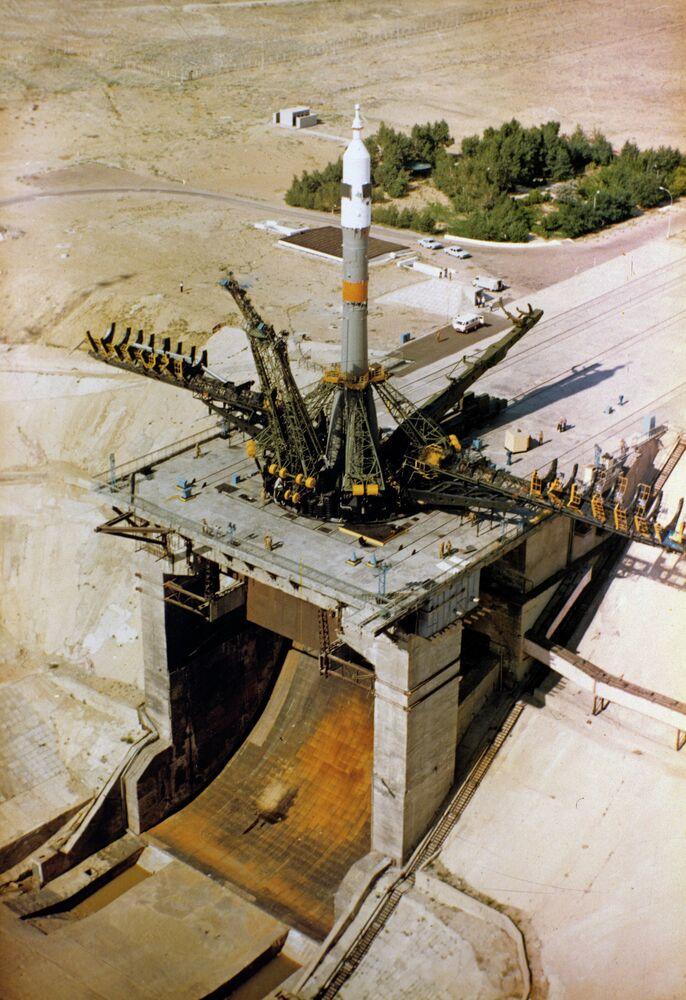 Baïkonour, premier centre spatial du monde