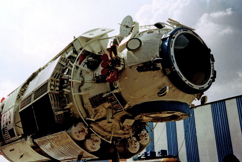 Le premier module de la station spatiale internationale (ISS), le bloc Zaria