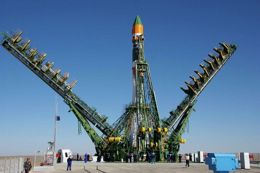 Le bio-satellite russe Foton-M lancé avec succès en septembre 2007 depuis le cosmodrome de Baïkonour