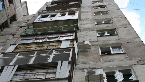 Последствия обстрела города Горловки Донецкой области - Sputnik France