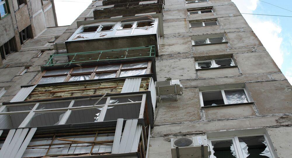 Situation dans le Donbass. Gorlovka.