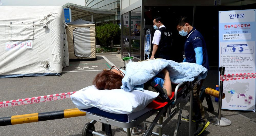 Une femme soupçonnée d'être atteinte par le virus MERS hospitalisée à Séoul