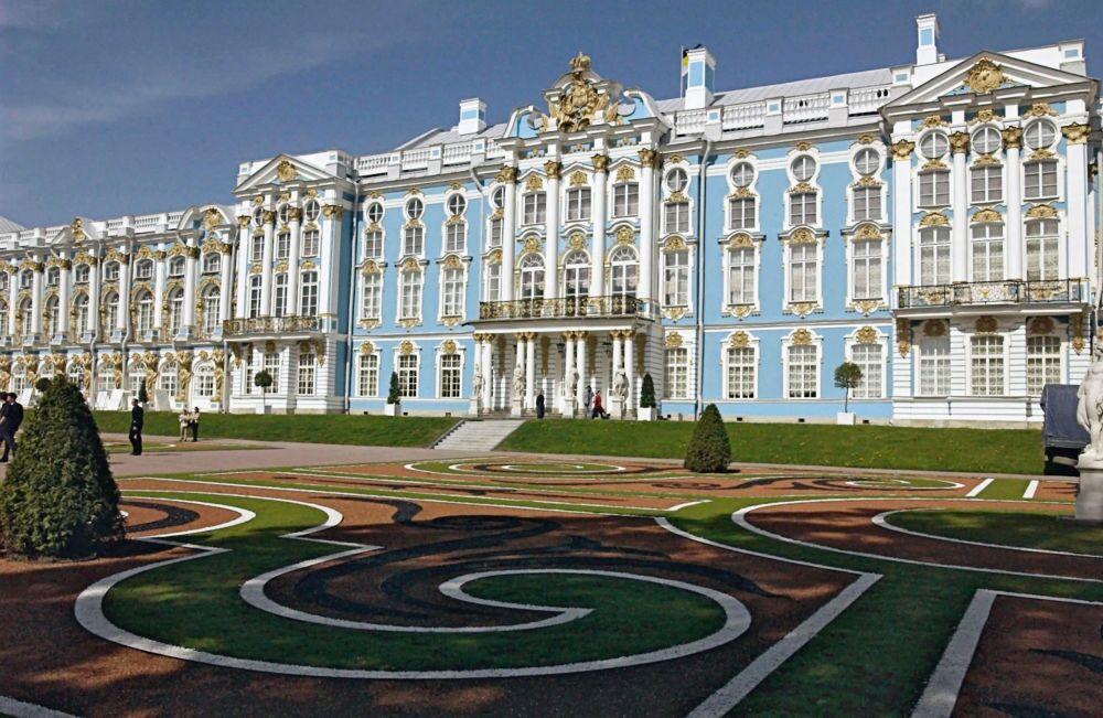 Le palais de Catherine à Tsarskoe Selo – la résidence d'été des tsars russes