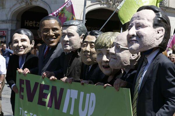 Manifestation contre le sommet du G7 à Munich - Sputnik France