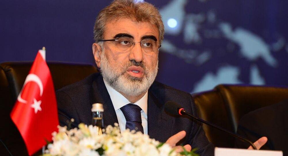 Taner Yildiz, ministre turc de l'Energie