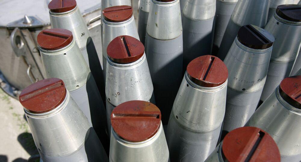 Destruction d'armes chimiques